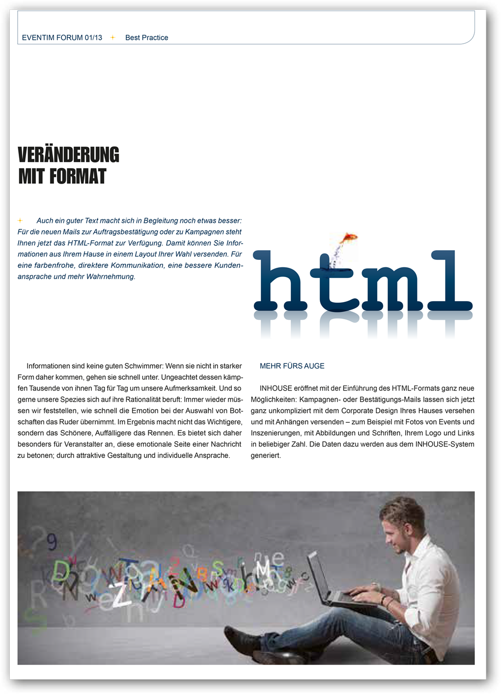 Magazin: eventim Forum